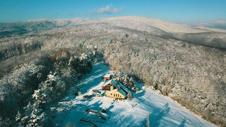 Chata Hrešná panoráma