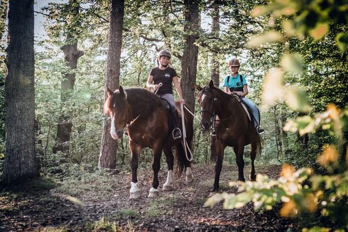Hresna jazdenie kone